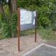 Gablota zewnętrzna wolnostojąca GOZ-WL 50x100x200+50cm do wkopania.