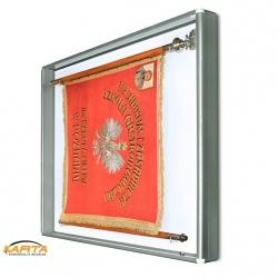 Gablota na Sztandar GSZ 100x100x10cm