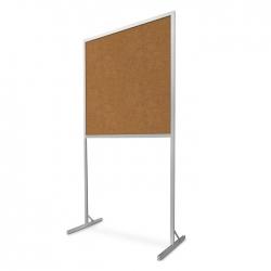 Tablica korkowa wolnostojąca 120x100x190cm