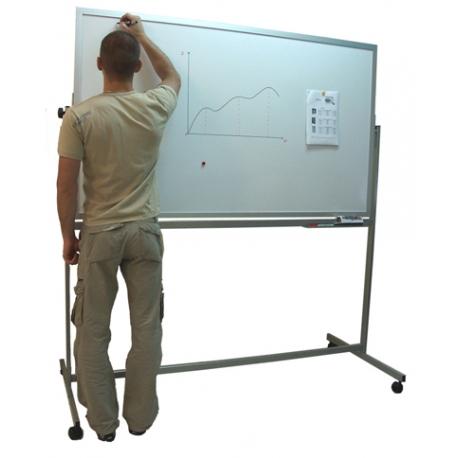 Tablica magnetyczna dwustronna obrotowa 170x100cm