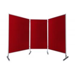 Tablica parawan 3x100x170x190cm dwumodułowy wolnostojący