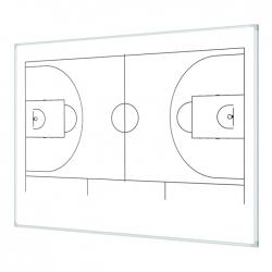 Boisko do koszykówki 120x100cm