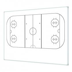 Boisko hokej na lodzie 120x100cm