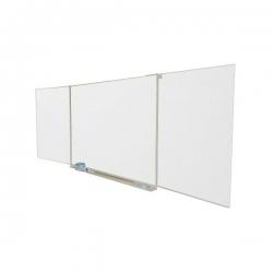 Tablica Tryptyk 100x170cm + 2x85x100cm biała suchościeralna