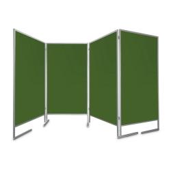Tablica parawan 4x100x170x190cm czteromodułowy wolnostojący