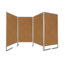 Tablica parawan czteromodułowy wolnostojący 4x100x170x190cm
