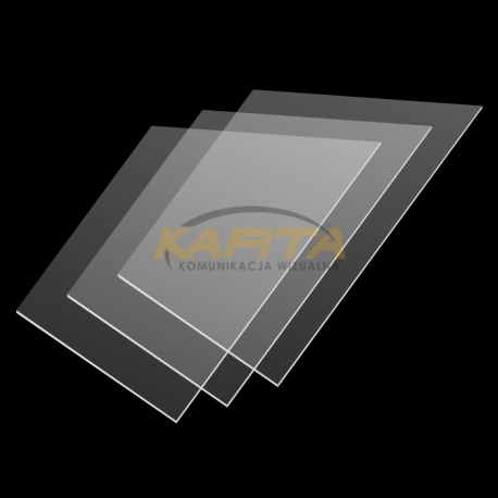 Formatka z plexi 1,8mm 30x40cm