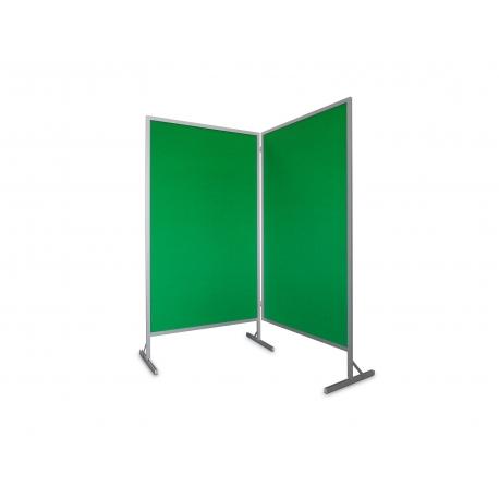 Tablica wolnostojąca parawan dwumodułowy 2x100x170x190 cm