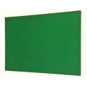 Tablica tekstylna zielona 100x150cm - złota rama